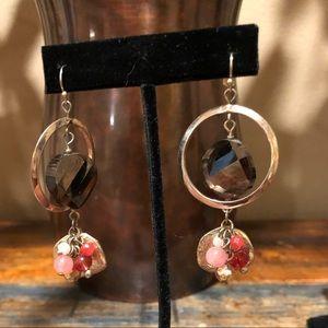 White House Black Market gold toned earrings